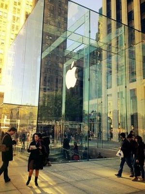 Apple granted a trademark over physical layout of the Apple Stores