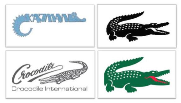 Crocodile War - Logos