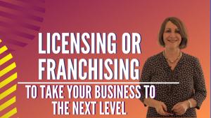 Licensing Franschising