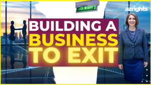 Building a business to exit